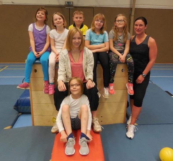 Spannende Übungen bietet unser Kids for Fit Angebot!