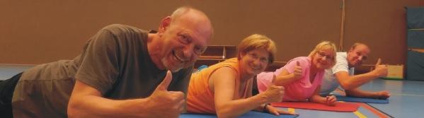 Rehabilitationssport bei der DJK hilft und macht Spass!