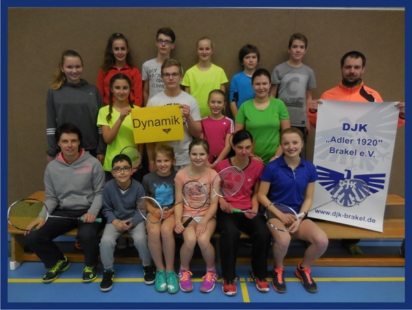Willkommen bei den DJK-Badmintonspielern!