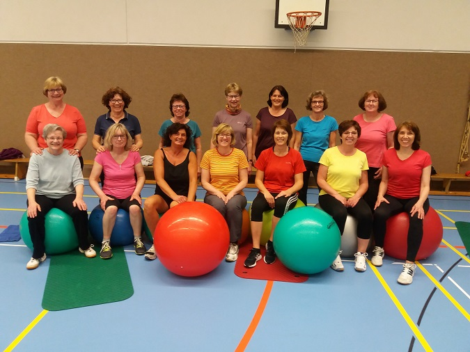 Unsere Frauenfitness-Gruppe