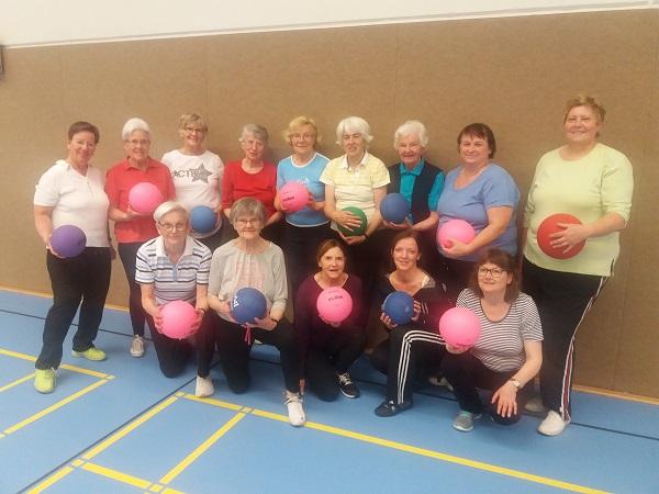Gesundheitssport tut bei jedem Alter gut!
