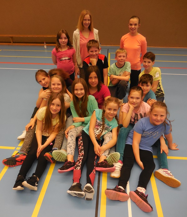 Kids for Fit bei der DJK Brakel