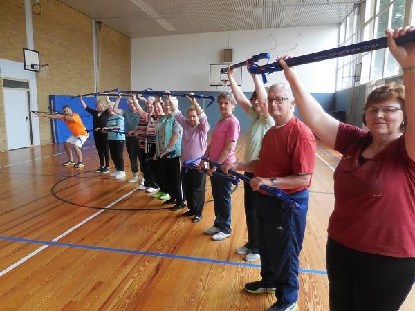 Individuelle Übungen für jede Gruppe