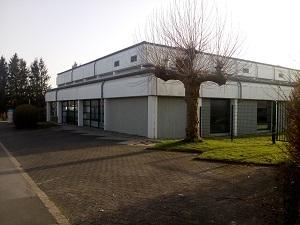 Sporthalle des Kreisberufskollegs in der Klöckerstraße