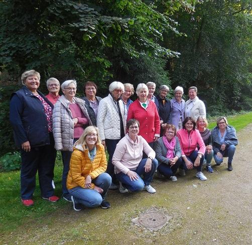 Sommerabschluss unserer Fitnessgruppen am Keiserbrunnen in Brakel