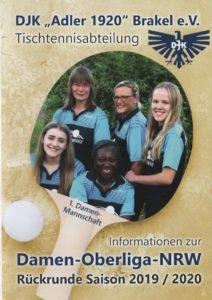 Unsere 1. Damenmannschaft startet in die Rückrunde der Oberliga!